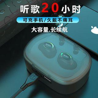 無線藍牙耳機迷你雙耳入耳塞超長待機華為OPPO小米vivo蘋果通用