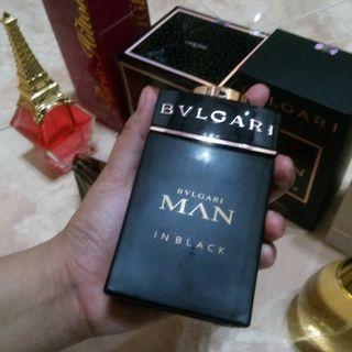 Parfum bvlgaru man in black