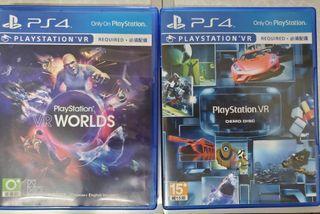 PS4 VR遊戲片X2