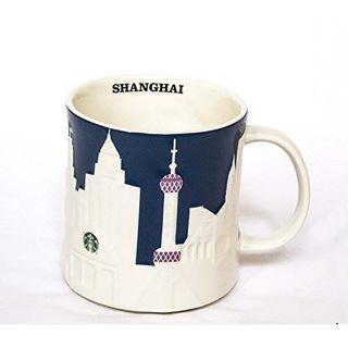 【絕版】Starbucks 星巴克 上海城市杯/馬克杯 浮雕款 16oz