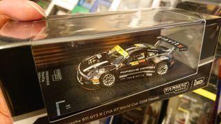 Tarmac works HOBBY64 Porsche 911 GT3 R FIA GT WORLD CUP 2018 MACAU 鏡面 罕有