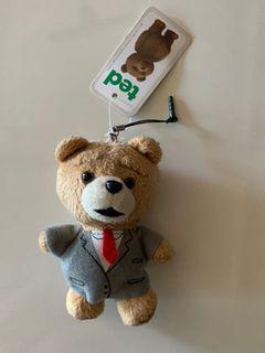 Ted Earphone Plug Mascot
