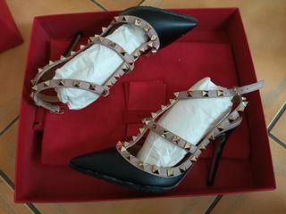 Valentino garavani 釘鉚根鞋 size35 全新