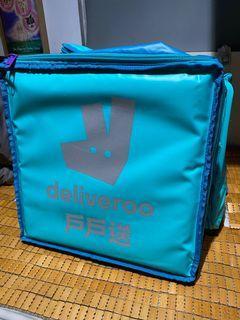 Deliveroo 戶戶送 Thermal Bag Backpack 保溫袋 背囊 背包 可擴展 超大容量 大尾相 電單車