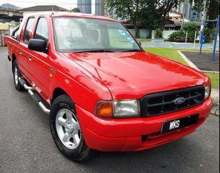 2003 Ford Ranger 2.5 Diesel (M) 4X4 Pick Up Truck