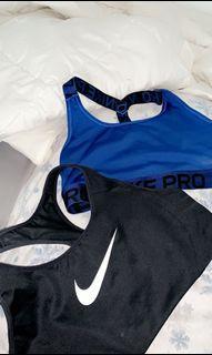 2 Nike Sports Bra