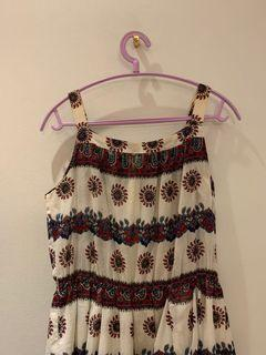 日本購入民俗風古著洋裝