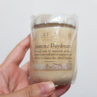 英國頂級香氛 Heart&Home茉莉花香精油蠟燭/大豆蠟燭115g