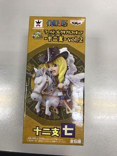 全新行版海賊王白馬卡文迪許十二生肖 One Piece WCF (正常盒)