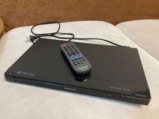 #防疫 Panasonic國際牌高畫質DVD播放機(DVD-S48)