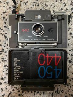 寶麗來 Polaroid 440拍立得相機 復古相機 古董相機 撕拉片