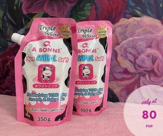 A BONNE Milk Spa Salt Scrub, 350g