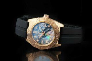 ARAGON  A197MOP 大力神 青銅錶 藍寶石水晶 MD 43mm 附影片
