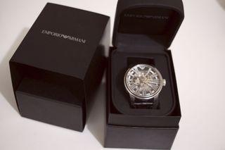 Armani男錶 機械錶 回專櫃換過新錶帶