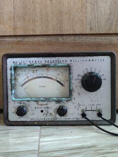 Avo ohm meter jadul antik listrik
