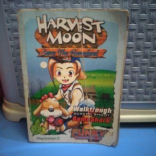 BUKU GAME HARVEST MOON SAVE THE HOMELAND PLAYSTATION2 PS2 PRELOVED BEKAS