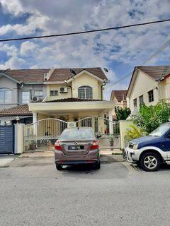 Endlot Freehold Double Storey Terrace House Lorong Batu Nilam 33b, Bandar Bukit Tinggi, Klang