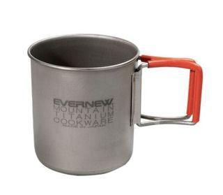Evernew titanium 400 EBY262 超輕 膠邊防燙 鈦杯