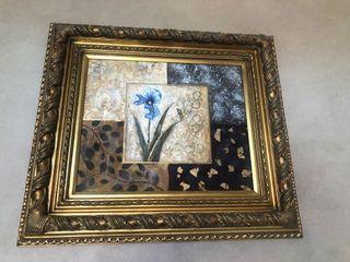 Gold Framed Canvas Painting / Artwork
