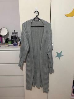 Grey Cardigan/size m