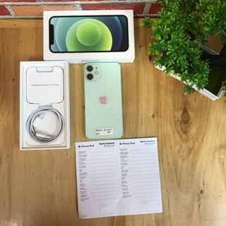 IPhone 12 Mini 128GB Green Fullset Original Resmi IBOX