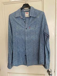 Levi's 牛仔印花襯衫