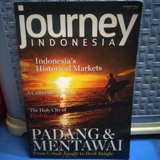MAJALAH JOURNEY INDONESIA EDISI PADANG MENTAWAI PRELOVED BEKAS