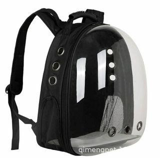 Pet/dog /cat rabbit backpack carrier, not tier cage condo tree house