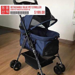Removable Carrier Pet Jogger Stroller