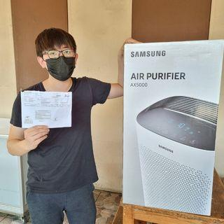 SAMSUNG AX60R5080WD/SE  Air Purifier with 3 Way Airflow  ( MASI DI SEGEL ))