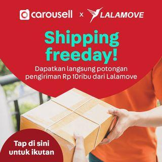 Shipping Freeday! Voucher pengiriman dari Lalamove