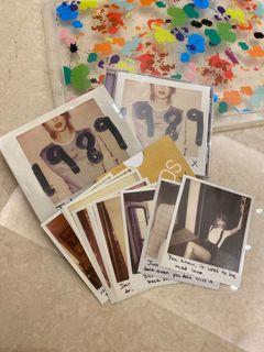 TAYLOR SWIFT 1989 DVD + PHOTOS PHOTOCARD CD