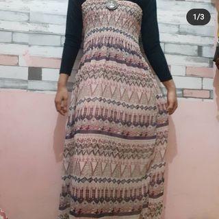 Triball long dress