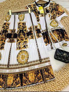Versace Terno Skirt Set