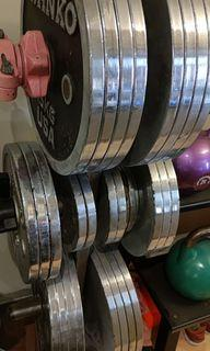 Weight plate gym ivanko USA