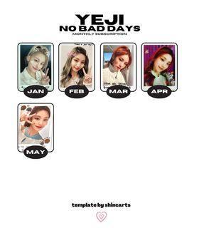 [WTB] Itzy No Bad Days nbd Yeji and Ryujin polaroids