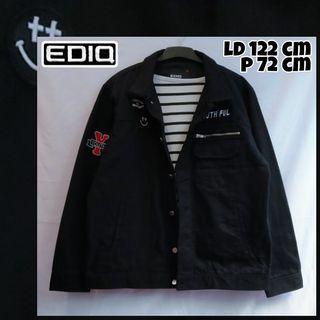 XXL Oversize Jacket Jeans Jaket Parka Patch Big Size Jumbo Jaket Motor Jaket |Tags: Coat Outer Sweater Blazer Cardigan Jaket Thrift