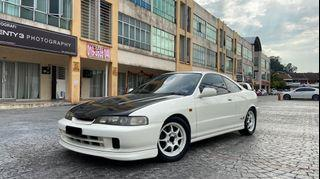 1997 Honda Integra Type R (DC2) - rare JDM collectible car, mostly stock