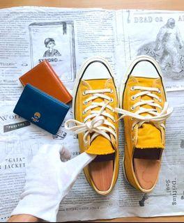 25.5/Converse chuck taylor 1970低筒帆布鞋/芥末黃/151229C/二手鞋款/中性男女款/88%new