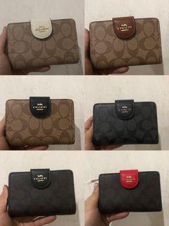 2 for 150 Coach medium zip wallet C0082
