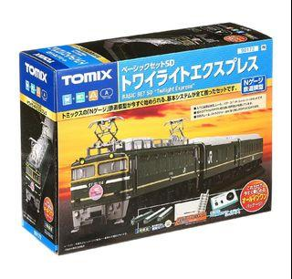 Last 2! 特價! 全新現貨 TOMIX N比例 twilight express 列車 90172 入門套裝 鐵道模型 (Not KATO & Tomytec) 1/150