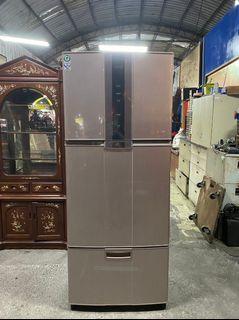9成新 SAMPO聲寶 3門變頻冰箱 家用冰箱 530L 全虹二手家具-彰化二手家具-台中二手家具-員林二手家具