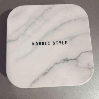 北歐風大理石紋水盒