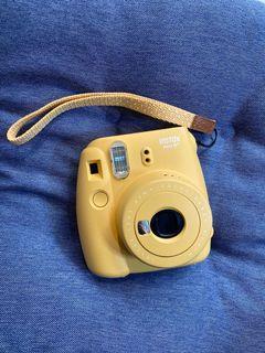黃色可愛 instax mini 8
