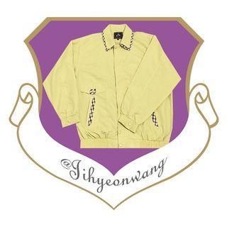 特品 POLO 雙領外套 古著 格領外套 學院風 長袖上衣 格領 格子 檔片 哈靈頓外套 夾克 @下課來玩吧
