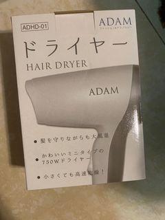 Adam 攜帶吹風機 迷你吹風機