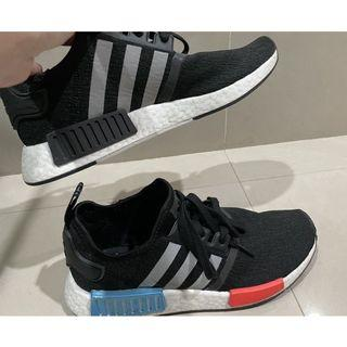 出清價ADIDAS ORIGINALS NMD_R1經典鞋26公分+後背包