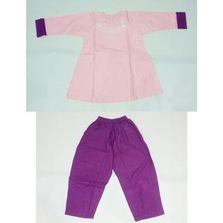 Baju Muslim anak 1 stel