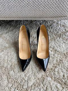 Black Stiletto So Kate Louboutins Size 37.5