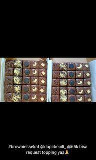 brownies toping